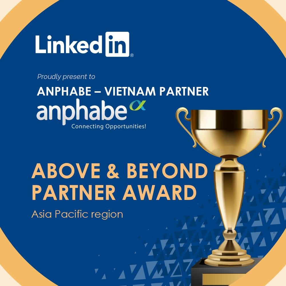 Anphabe - Đối tác phát triển nổi bật của LinkedIn tại châu Á - Thái Bình Dương